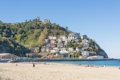 San Sebastián, Donostia, Gipuzkoa, Baskenland, Spanien-Novembe lizenzfreies stockfoto