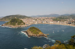 San Sebastian, Ισπανία στοκ εικόνα με δικαίωμα ελεύθερης χρήσης
