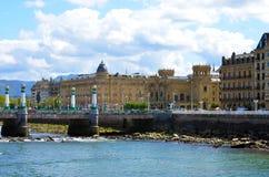 San Sebastian в Баскония, Испании Стоковое Фото