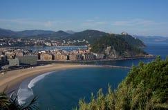 San Sebastian, Испания Стоковая Фотография