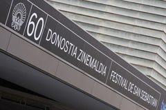 San Sebastian, 60 film festival Stock Image