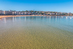 San Sebastian in Baskisch Land Noordelijk Spanje Royalty-vrije Stock Afbeelding