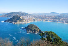 San Sebastian bay Stock Photo