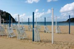 San Sebastian beach Stock Photo