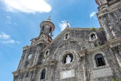 San Sebastian Cathedral in Bacolod Stockbild