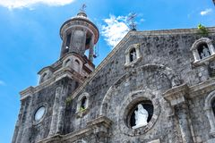 San Sebastian Cathedral em Bacolod Imagens de Stock