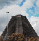 San Sebastian Cathedral en Lapa, Rio de Janeiro, el Brasil imagen de archivo libre de regalías
