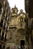 San sebastian - chuch of coro Royalty Free Stock Image