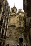San Sebastian - chuch van coro royalty-vrije stock afbeelding