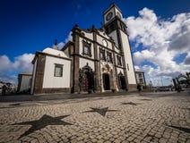 San Sebastian church stock image