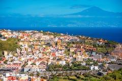San Sebastian city on La Gomera island Stock Photos
