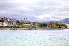 San Sebastian. Cityscape. Stock Images