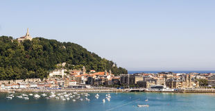 San Sebastian cityscape Royalty Free Stock Photo