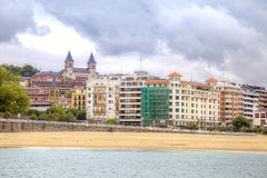 San Sebastian. Cityscape. European Capital of Culture Royalty Free Stock Images
