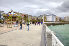 San Sebastian. Cityscape. European Capital of Culture Royalty Free Stock Photography
