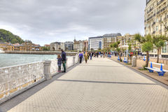San Sebastian. Cityscape. European Capital of Culture Stock Photos
