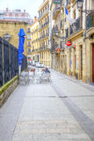 San Sebastian Cityscape Europees Kapitaal van Cultuur Royalty-vrije Stock Foto