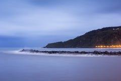 San Sebastian Coast Stock Photo