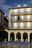 San Sebastian - Constitucion Quadrat Stockbilder