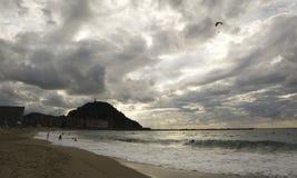 San Sebastian - construction d'hôtel de ville Photographie stock libre de droits