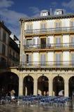San Sebastian - cuadrado de Constitucion Imagenes de archivo