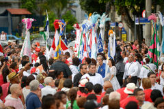 San Sebastian Day Lizenzfreies Stockbild
