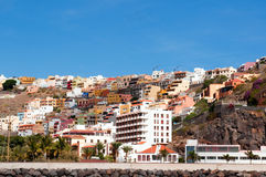 San Sebastian de la Gomera Royalty Free Stock Photography