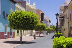 SAN SEBASTIAN DE LA GOMERA; Canary island, Spain royalty free stock photo
