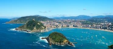San Sebastian (Donostia) Imagenes de archivo