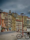 San Sebastian Donostia Old Port in North Spain City royalty free stock photos