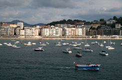 San Sebastian (Donostia), Spain Stock Images