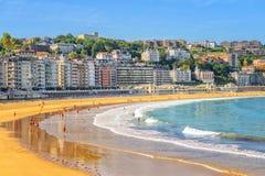 San Sebastian Espagne Photos stock