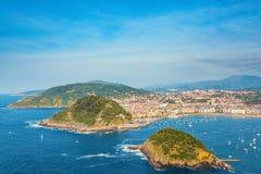 San Sebastian Euskadi, Baskijski kraj, Hiszpania zdjęcia royalty free