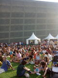 49 San Sebastian Jazz Festival, Jazzaldia San Sebastian Guipuzcoa spain Fotografering för Bildbyråer
