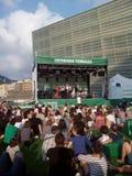 49 San Sebastian Jazz Festival, Jazzaldia San Sebastian Guipuzcoa spain Royaltyfria Foton