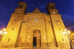 San Sebastian kościół w Aguimes Fotografia Stock