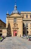 San Sebastian kościół w centrum Salamanca Zdjęcie Royalty Free