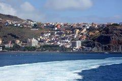 San Sebastian in La Gomera royalty-vrije stock foto
