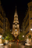San Sebastian By Night Stock Image