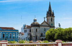 San Sebastian Parish in Manaus, Amazon in Brazil Stock Images
