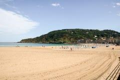 San Sebastian plaża zdjęcia stock