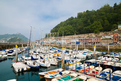 San Sebastian port Stock Photography