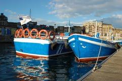 San Sebastian Port. Spain Royalty Free Stock Images