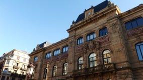 San Sebastian Spain City Building. Old Building at San Sebastian city in Basque Country Royalty Free Stock Image