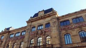 San Sebastian Spain City Building. Old Building at San Sebastian city in Basque Country Royalty Free Stock Photo