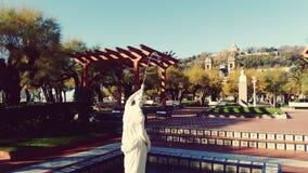 San Sebastian Spain Garden sculpture Stock Photos