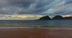 San Sebastian, Spanien stock video footage