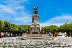 San Sebastian Square in Manaus downtown, Brazil Royalty Free Stock Image