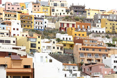 San Sebastian town on Gomera island, Spain Royalty Free Stock Photos