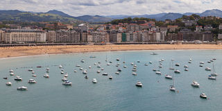 San Sebastian waterfront Stock Image